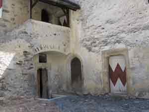 Eingang zur Hofkapelle
