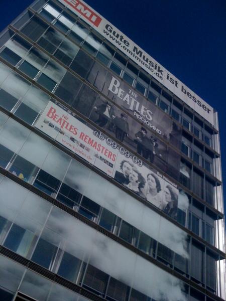Beatles bei EMI in Köln