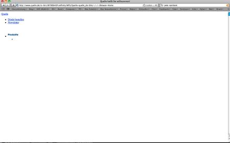 Quelle Server down