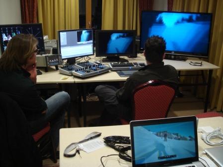 Red Bull Media House hat die schwierigste Skiabfahrt der Welt in Stereo 3D aufgenommen.