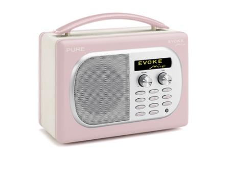 Mein Liebling ist das Digitalradio im Retro-Stil: EVOKE Mio von PURE