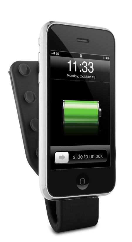Das Philips Power Pack verdoppelt die Akkukapazität vom iPhone.