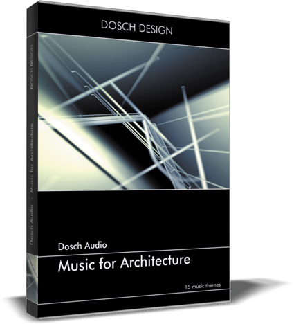 """Die CD """"Music for Architecture"""" von Dosch nutze ich sehr oft und hat sich bezahlt gemacht."""