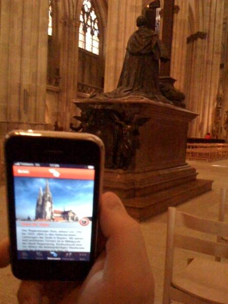 Der Regensburger Dom in der App und live.