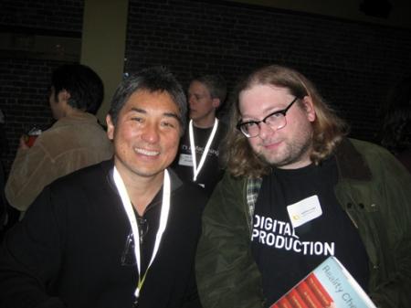 Guy Kawasaki mit dem Autor dieser Zeilen im Gespräch.