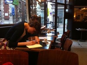 Eine Bestsellerautorin oder doch nur eine Studentin?