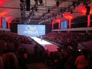 Wella leistete sich in Paris eine fette Show.