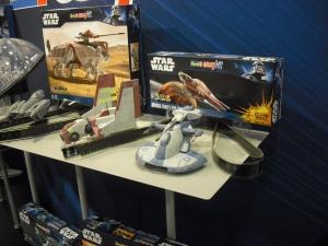 Star Wars Bausätze von Revell.
