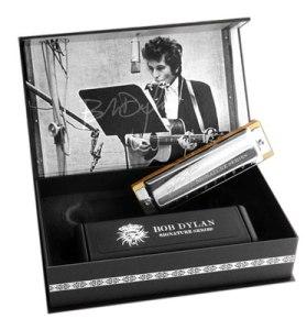 Mein Dylan-Mundharmonika von Hohner.
