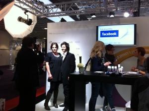 Facebook-Fotoshooting auf der Hair&Beauty.