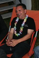 Robert Mayer beim Sommerfest von yello.