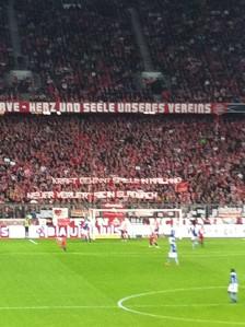 Protest gegen Manuel Neuer.