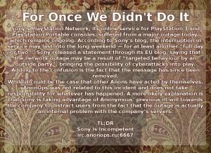 Hacker: Wir sind es nicht gewesen!