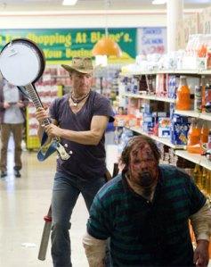 Immer feste drauf - sind ja nur Zombies.
