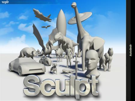 Unterwegs modellieren mit Autodesk 123D Sculpt