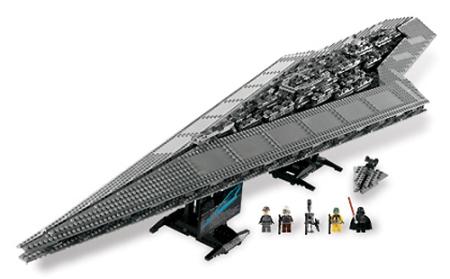Die Exekutor aus Lego -  Weihnachten kann kommen.