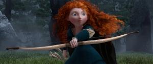 Merida – Legende der Highlands mit rotem Haare.