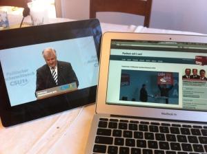 Live Streaming vom politischen Aschermittwoch von CSU und SPD.