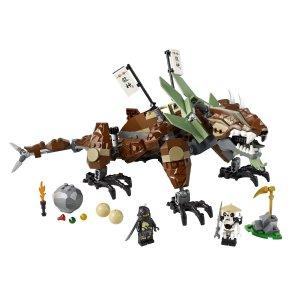 Der LEGO Ninjago 2509 - Erddrache im Einsatz.