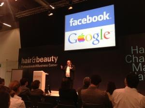 Facebook steht bei Friseuren ganz oben auf der Liste.