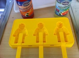 Die Lego-Eisbox noch unbefüllt.