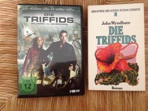 Die Triffids - neue DVD und altes Buch.