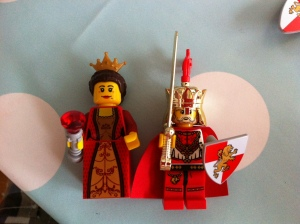 Dame und König der Löwen-Ritter