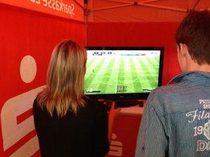 FIFA 13 bei der Sparkasse.