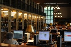 Digital und analog in der New York Stadtbücherei