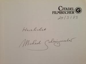 Autogramm von Autor Michael Scheingraber - vielen Dank.