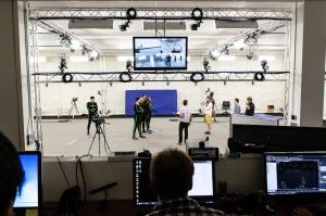 Die Stage im neuen Ubisoft-Studio.