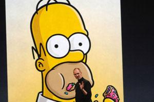 Macworld 2008: Steve Jobs und Homer