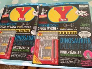 ich ergatterte 2 Yps Hefte und jetzt kommt das Abo.