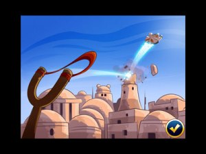 Star Wars als Comic in Angry Birds-Manier