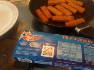 Der QR-Code lädt zur Transparenz ein: Woher kommt der Fisch?