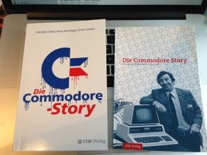 Links die Neuauflage, rechts die alte Ausgabe der Commodore Story