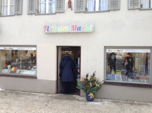 Floh am Markt in Fürstenfeldbruck.