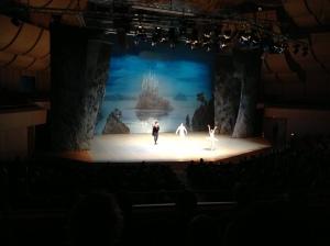 Ballettleistung auf hohem Niveau beim Bolschoi Staatsballett.