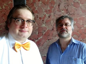 Matthias J. Lange und Dr. Michael Homberg
