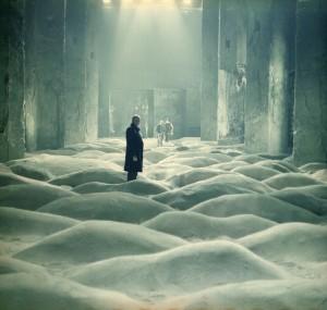 Szene aus Stalker - wunderbares Set, wunderbarer Film.