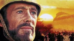 Peter O'Toole spielt in Zulu Dawn die Hauptrolle.