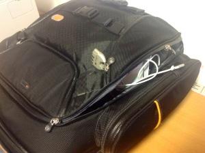 Scheiden tut weh - mein Rucksack ist kaputt