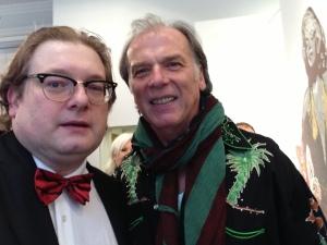 Matthias J. Lange mit Schauspieler Wolfgang Fierek
