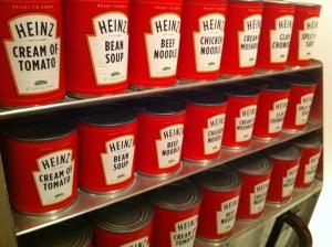 Heinz hat auch Suppen zu bieten.