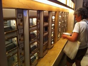 Ein Original-Restaurantautomat