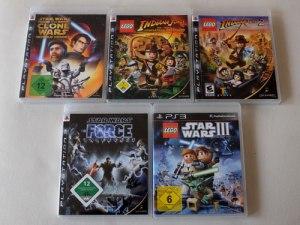 Auf der PS3 zahlreiche Filmspiele, aber kaum etwas neues.