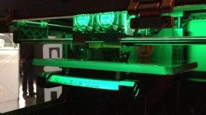 Faszinierend, wie ein 3D-Objekt im Druck entsteht.