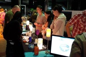 Schmuck und Lampen im 3D-Druckverfahren bei Scope for Design.