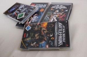 Ein paar Lucaarts-Spiele für die PSP.