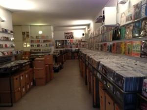 Blick in eine Parallel-Welt bei Parallel Schallplatten in Köln.